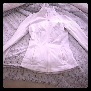 White lululemon jacket